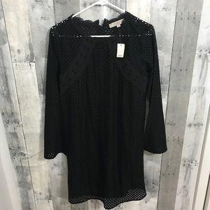 NWT Loft women's size 4 black dress